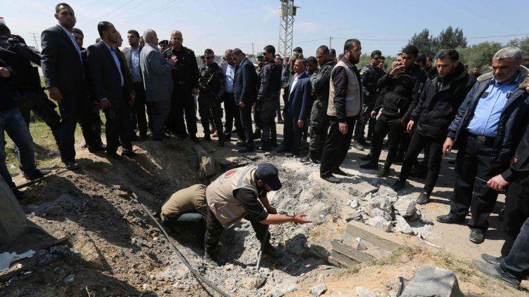 Los palestinos acusan al Hamas de intento de asesinato.