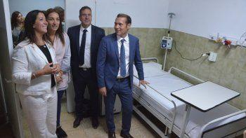 Reabrió sus puertas el área de pediatría del Bouquet Roldán