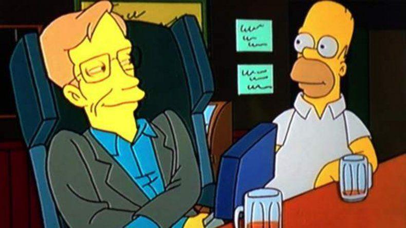 Hawking, un físico con carisma que protagonizó decenas de apariciones en series