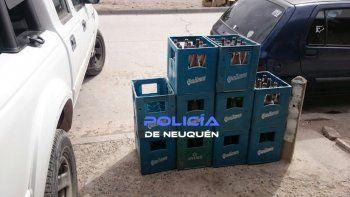 clausuraron un almacen ilegal que vendia alcohol