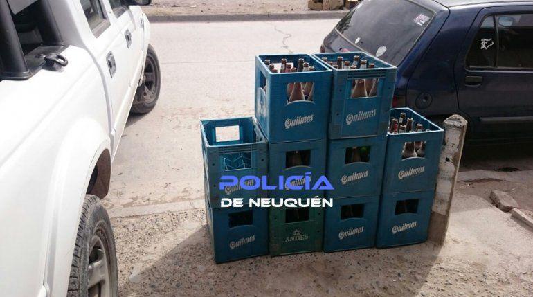 Clausuraron un almacén ilegal que vendía alcohol