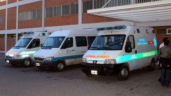 choferes de ambulancias van al paro y volantearan en la ruta 22