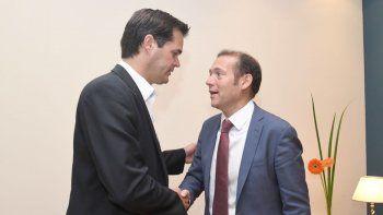 gutierrez se reunio con el titular de shell y analizaron inversiones