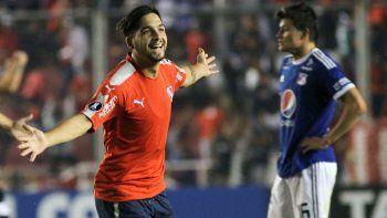 El Rojo superó 1 a 0 a los colombianos con el tanto de Benítez.