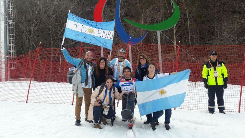 El neuquino Enrique Plantey volvió de los Juegos Paralímpicos de Corea
