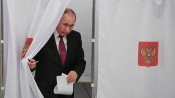rusia vota y putin podria seguir en el poder hasta el 2024