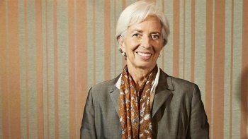Christine Lagarde se reunió el viernes con el presidente Macri.