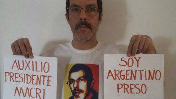 El abogado Marcelo Crovato, quien tiene la doble nacionalidad, estaba con prisión domiciliaria desde abril de 2014. Siempre luchó contra Maduro.