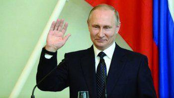El presidente ruso obtuvo cerca del 73% de los votos.