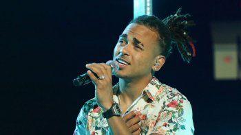 El cantante viene de presentarse junto a Daddy Yankee en Buenos Aires, Rosario y Bahía Blanca.