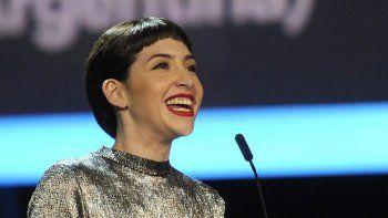 Gala se llevó el galardón a mejor actriz iberoamericana.