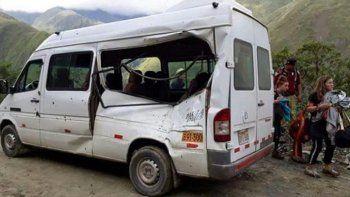 murio una turista argentina tras desprenderse una piedra