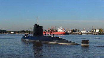 Marcos Peña presentó las misiones y coordenadas del submarino.