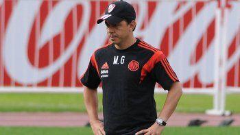 River visitará a la Universidadde Chile por la Copa Conosur.