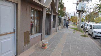 Ocurrió sobre la calle Río Negro, entre Montevideo y Libertad.