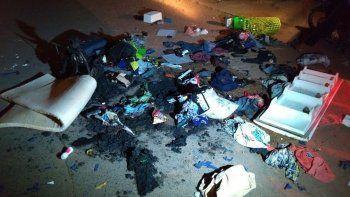 echan a refugiados venezolanos y les queman el equipaje