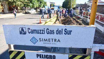 invierno calentito: 17 mil familias tendran gas de red