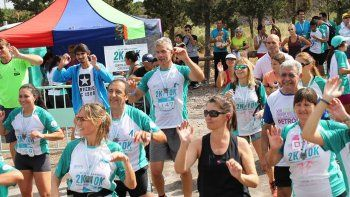 se viene la corrida solidaria contra el cancer de cuello uterino