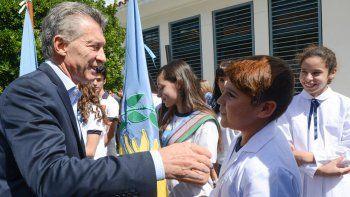 Es el comienzo de un gran camino, dijo el Presidente en Campana.