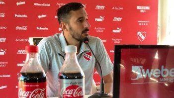 Jonas dijo que lo mínimo que aspiran es a la Libertadores.
