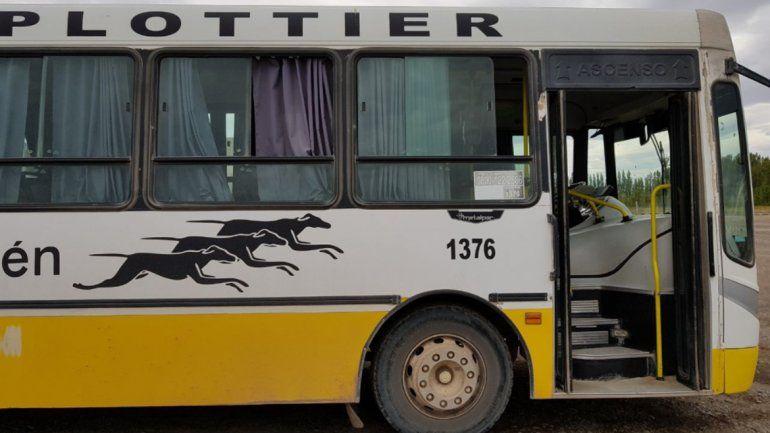 Quitaron frecuencias del servicio urbano de colectivos en Plottier
