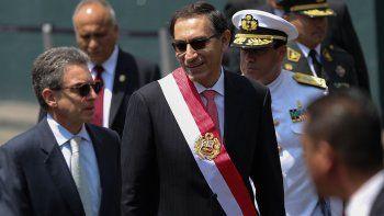 peru: juro el nuevo presidente tras la renuncia de ppk