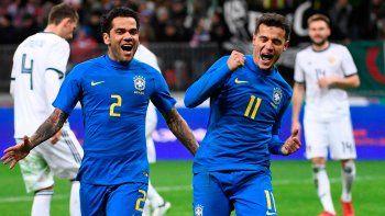 brasil goleo y colombia se lo dio vuelta a francia