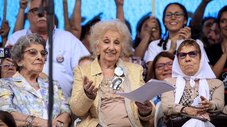 Abuelas de Plaza de Mayo anunció la recuperación del nieto 128