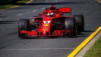 Vettel ganó la carrera en Australia por una avivada