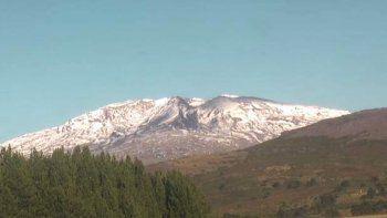 El volcán Copahue permanece en alerta Amarilla