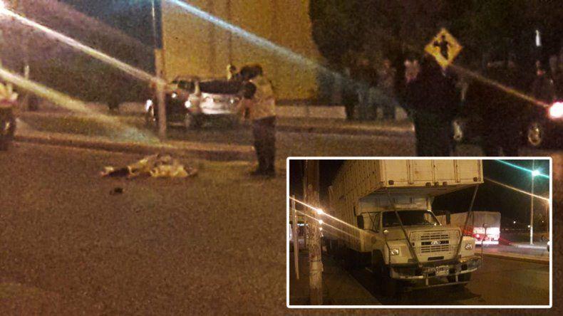 Camionero atropelló y mató a una mujer en medio de una discusión de tránsito