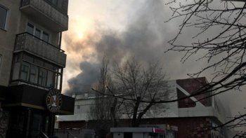Trágico incendio en shopping ruso: cinco muertos y varios heridos