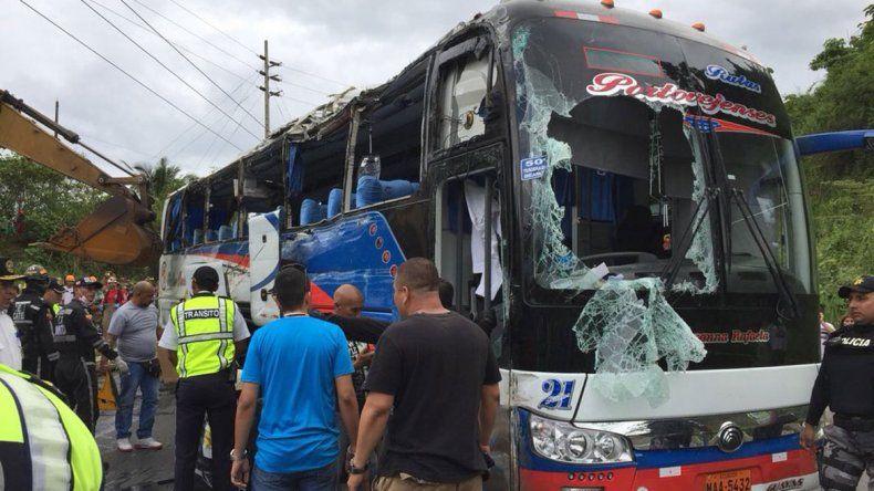 El accidente ocurrió en la carretera de Jipijapa