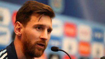 Messi: A la gente no le debemos nada