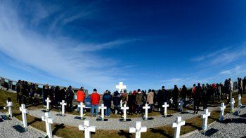 De Plottier a Malvinas para visitar la tumba de su hermano: Fue un día fuertísimo