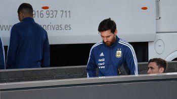 Ahora dicen que Messi no jugaría ante España