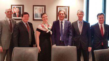 Gutiérrez se reunió con las autoridades de Energía de EE.UU.