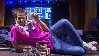 Crack del póker: Matías Arroyo volvió a ganar y se llevó $300 mil
