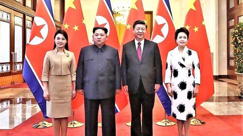 Kim viajó a China y anunció el desarme nuclear de Corea del Norte