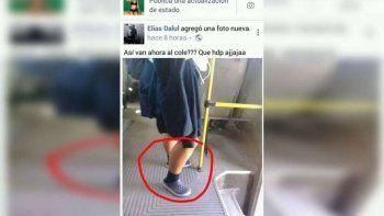 Esta es la imagen que un usuario subió a Facebook y se viralizó.