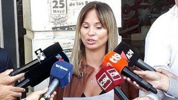 La fiscal del caso, María Soledad Garibaldi.