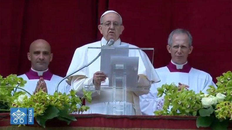 Francisco reclamó una acción común por la paz