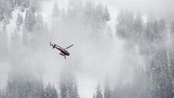 Tres españoles murieron por una avalancha de nieve en Suiza