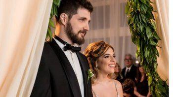 Fin del misterio: aparecieron las fotos de la boda de Dalma