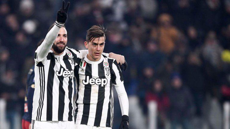 Sobre la hora, Juventus le ganó a Inter con un gol del Pipita Higuain