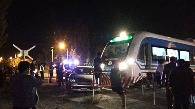 Tremendo accidente del Tren del Valle en el Oeste: no hubo heridos