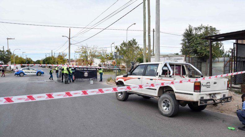 Una mujer de 79 años murió atropellada en el Bajo
