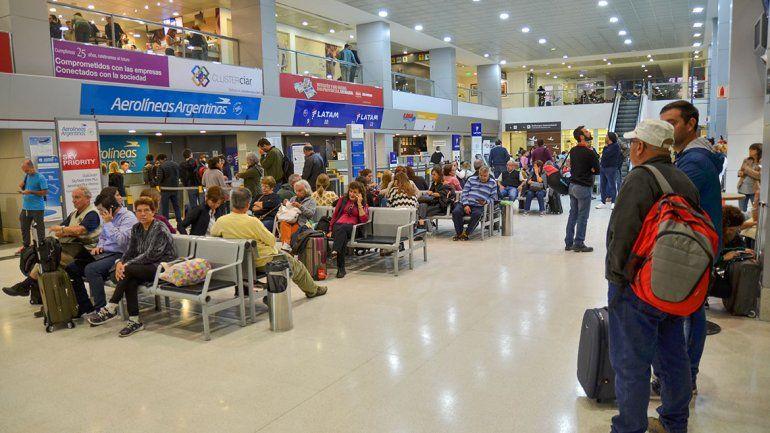 Hubo récord de pasajeros en el aeropuerto Perón