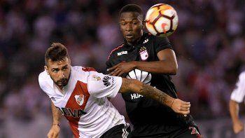 River dejó puntos claves al empatar con Independiente Santa Fe