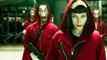 Netflix estrena la segunda parte del gran robo.